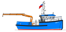12.80m Workboat