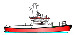15.50m Workboat