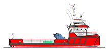 20.00m Cargo Vessel Profile