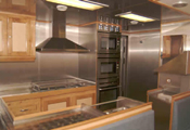 22.00m Research Vessel Galley Photograph