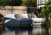 Residential Barge- Kingston Upon Thames Photograph