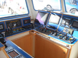 27.00m Research Vessel Wheelhouse Winch Control Station Photograph
