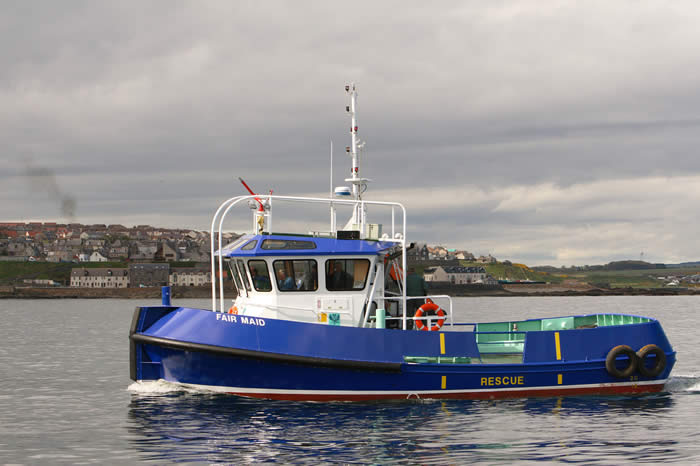 Fair Maid of Perth - 13 metre General Workboat