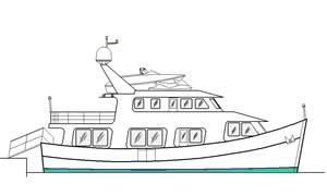 60 ft fishing boat convered to luxury yacht Profile