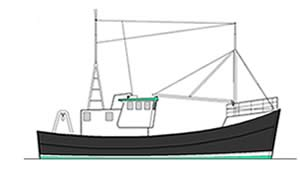 60 ft fishing boat Before Profile