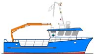 12.44m Catamaran Workboat