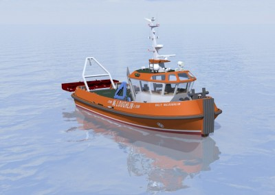 16m Conventional Harbour Tug Render