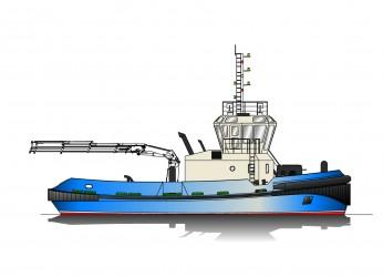 21.00m ASD Tug Profile