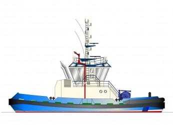 25.00m ASD Escort Tug Profile