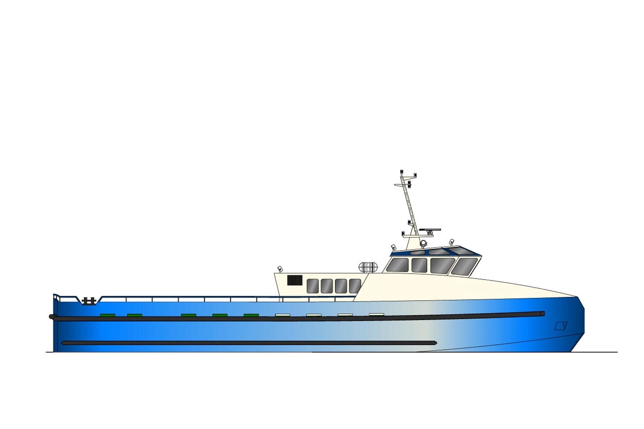 30.50m Crew Vessel Profile