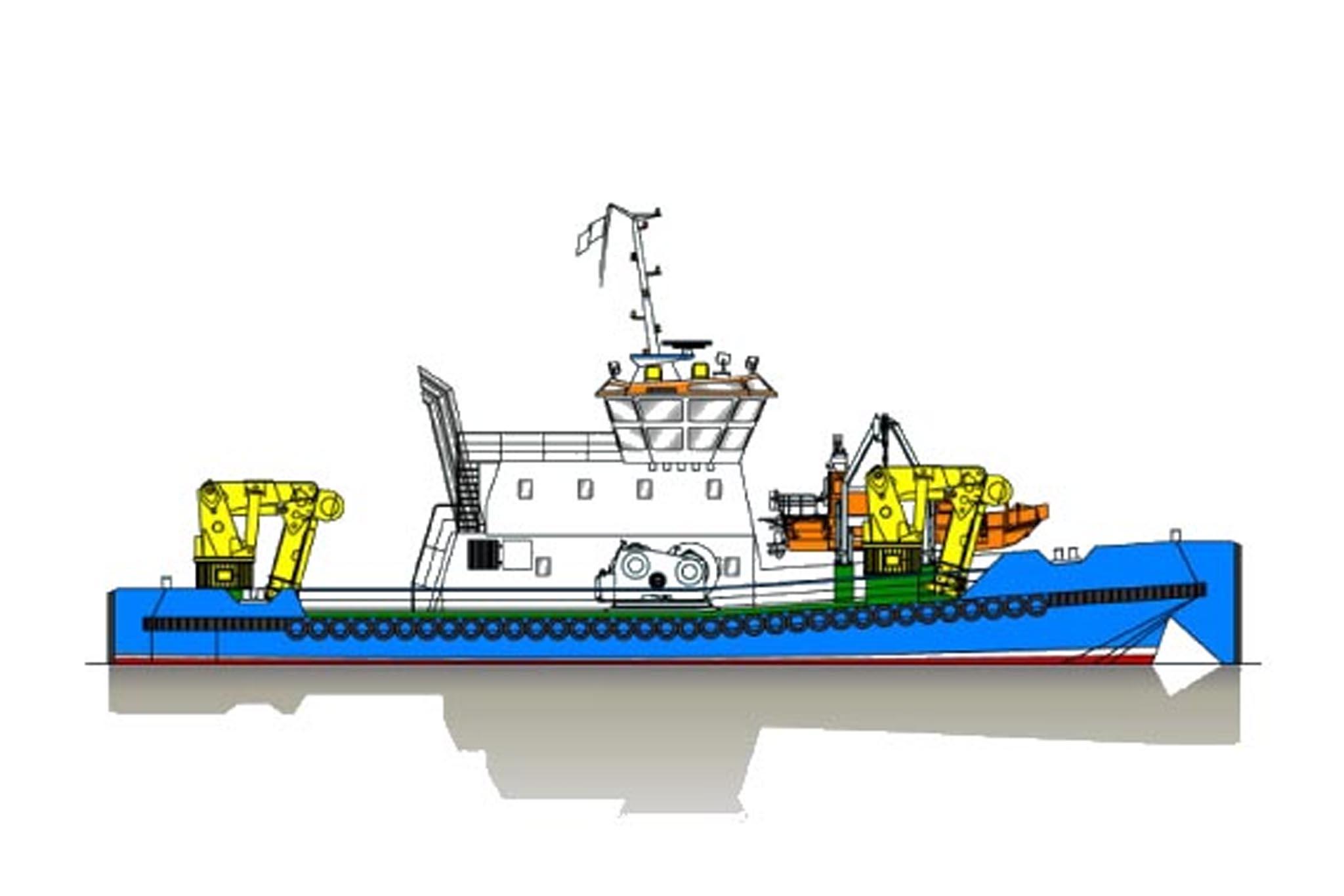 36.00m Offshore Multi Mac Profile
