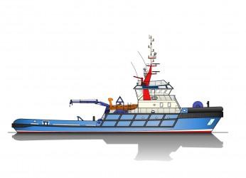 40.00m ASD Tug Profile