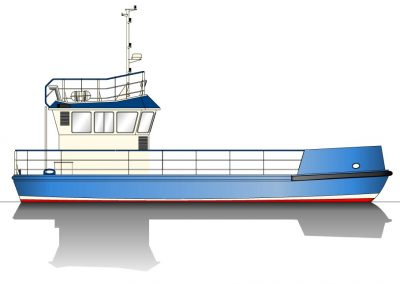 15.00m-Workboat-Garbage-Vessel-Jeddah-20B-Profile