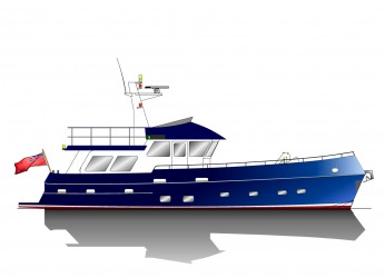 16.75m Trawler Yacht Profile