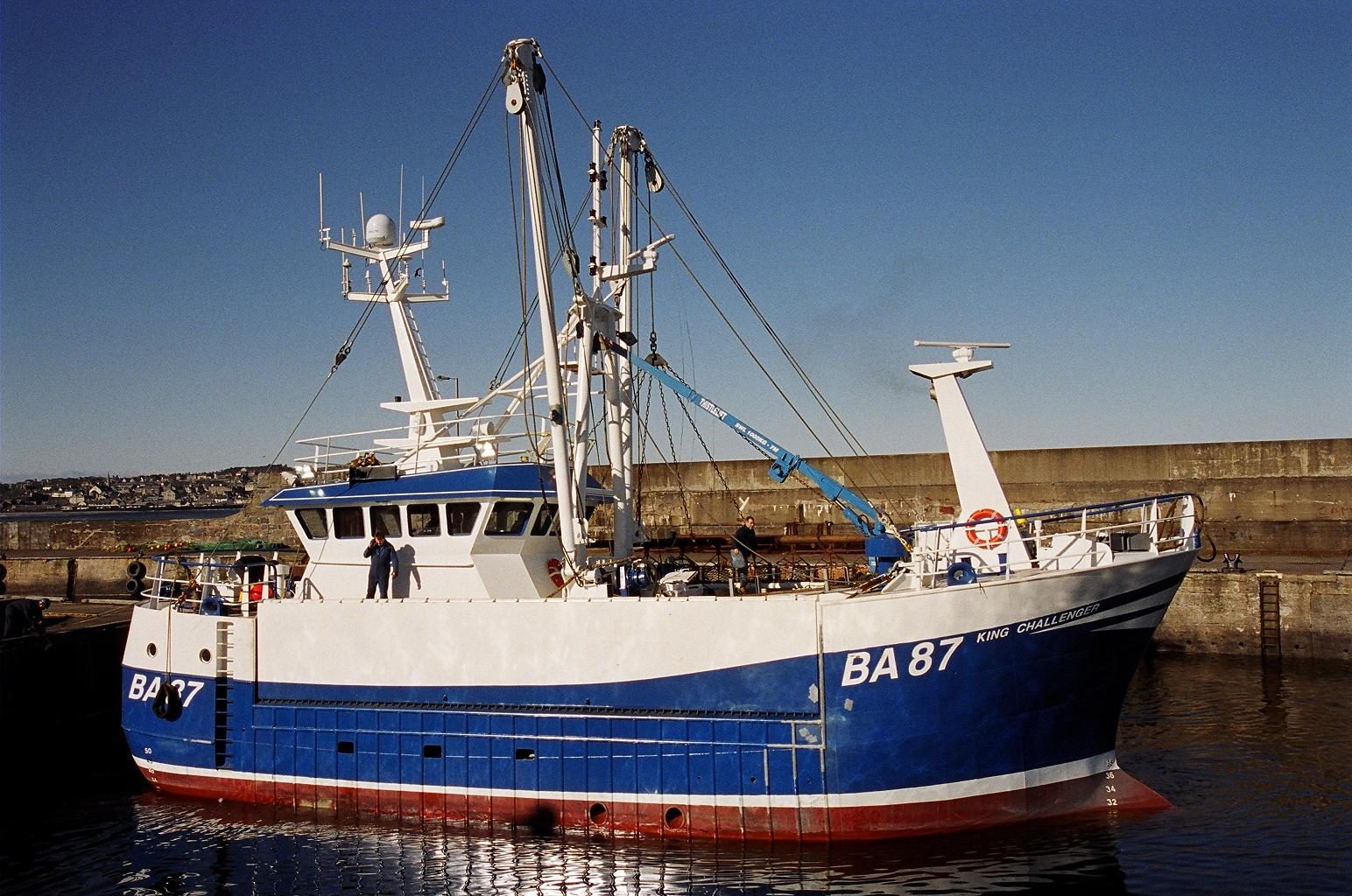 """21.30m Fishing Scalloper """"King Challenger"""""""