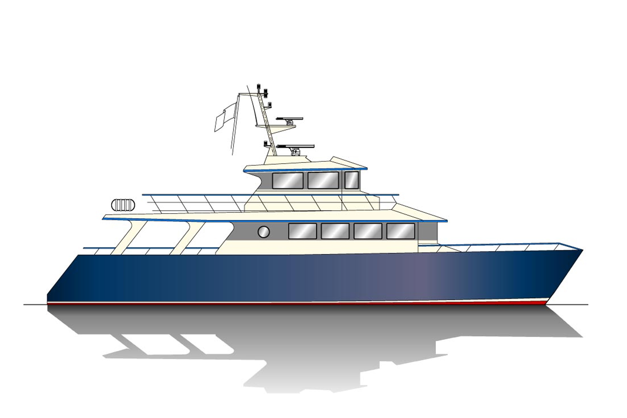 25.00m VIP Vessel Profile