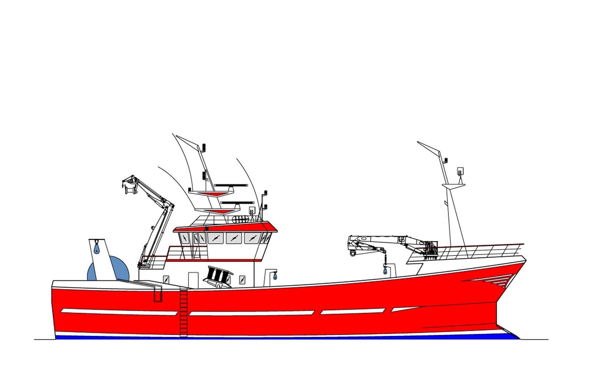 34.00m Trawler Profile