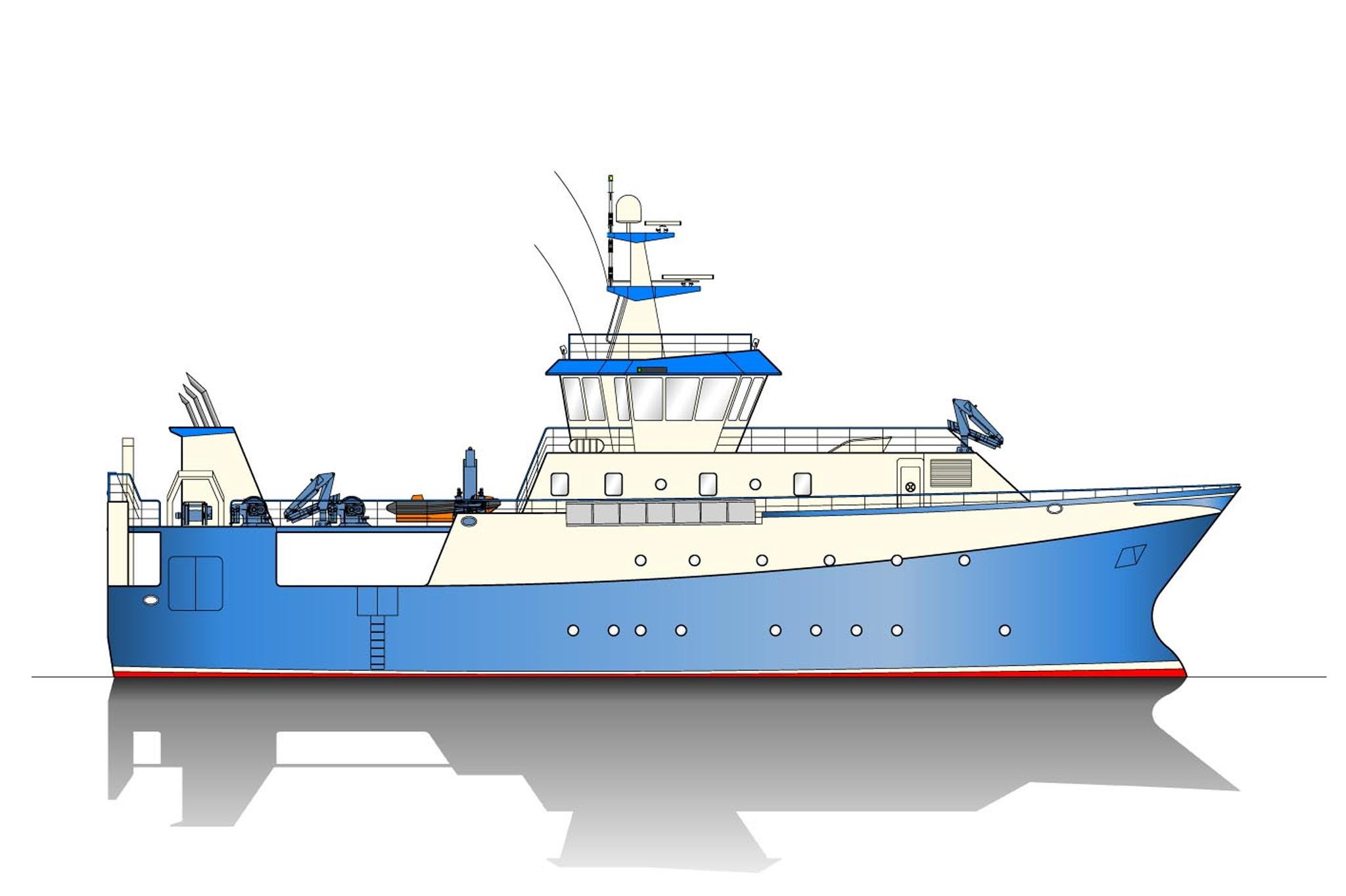 40.00m Research Vessel Profile