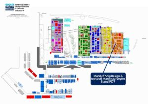 Seawork Exhibition Layout Plan