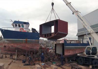 14.00m Workboat Photo Lengthening