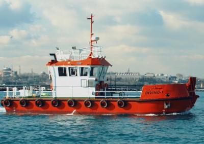 15.00m Dive Vessel Photo