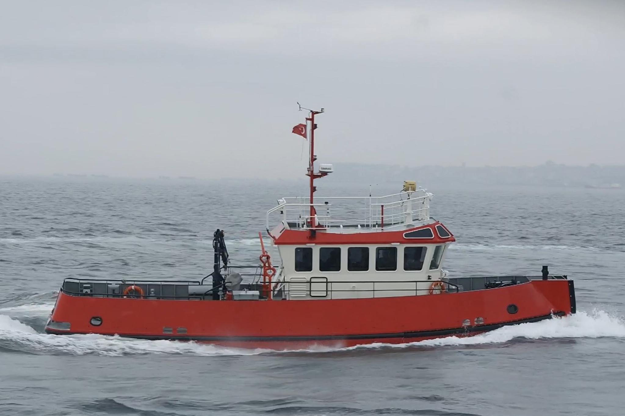 16.80m Workboat Photo