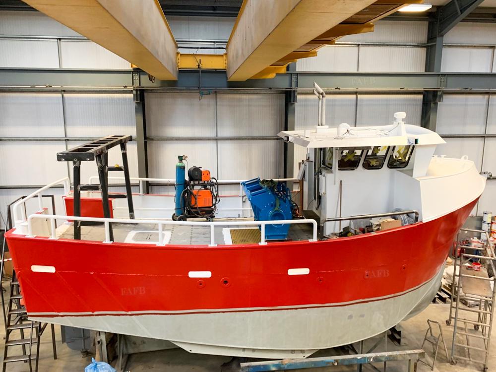 Jalna 10m fishing vessel
