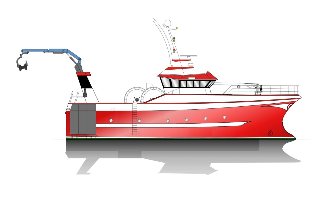 Build Contract Signed for 24.90m Fishing Vessel