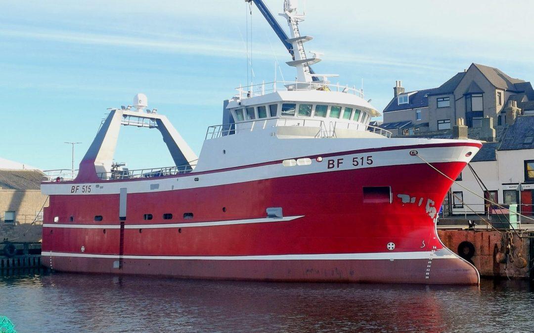 Ballast Incline 34m Trawler