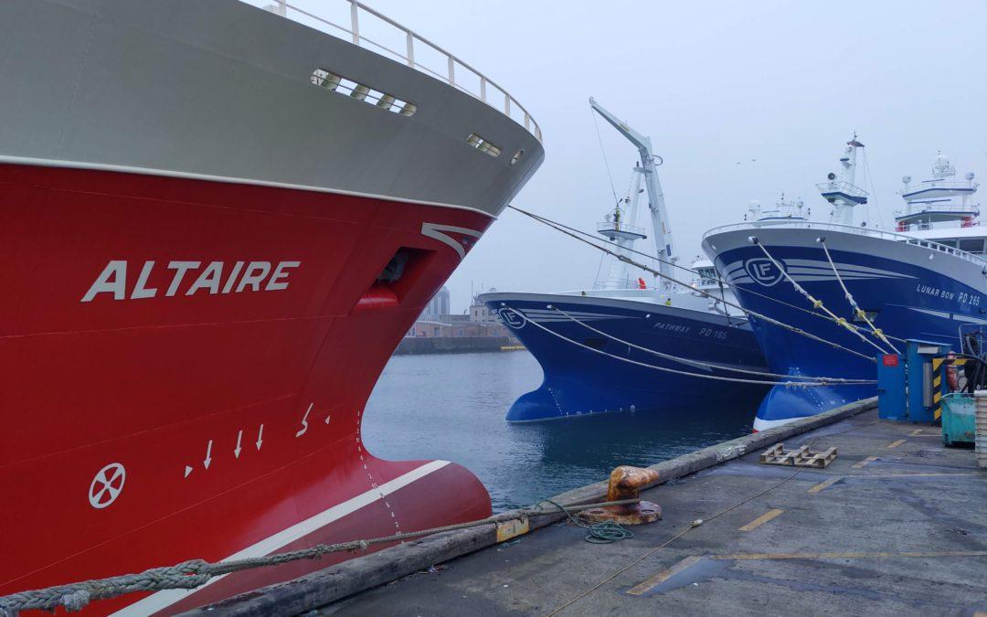 Incline on Pelagic Trawler