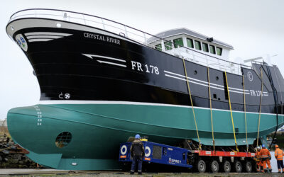Sister Ships Launched